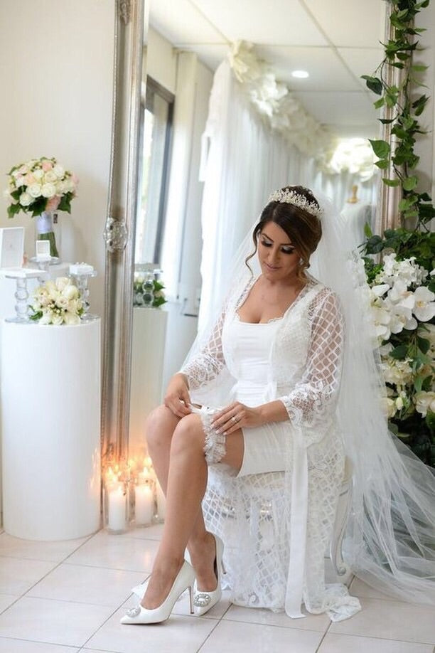 Klara - Full Length Lace Robe