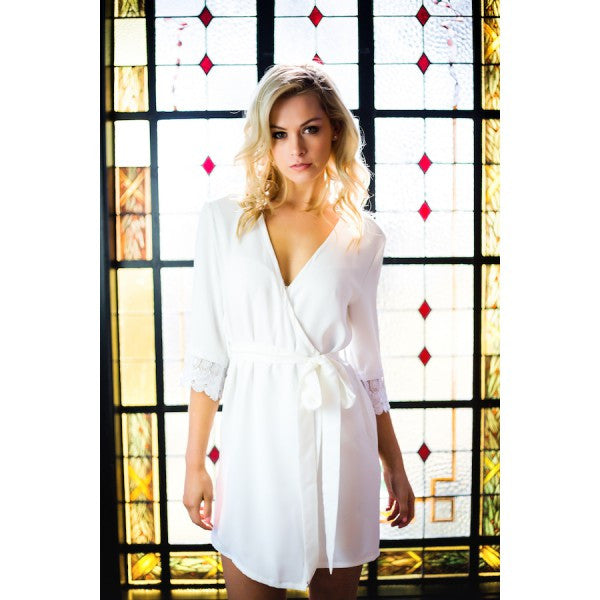 Rock Steady Robe - Bridal Lingerie - Robe - Roman & French