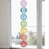 7Pcs/Set Om Meditation PVC Chakras Mandala - One Stop Quik Shop