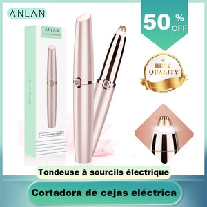 Electric Flowless Eyebrow Trimmer - One Stop Quik Shop