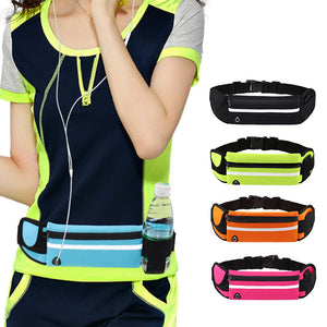 Waterproof Running Waist Belt Bag - One Stop Quik Shop