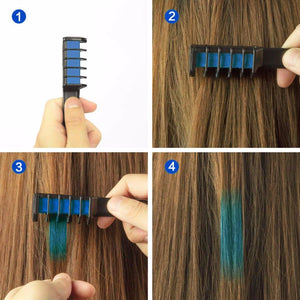 Beautifying Temporary Hair Dye Comb - One Stop Quik Shop