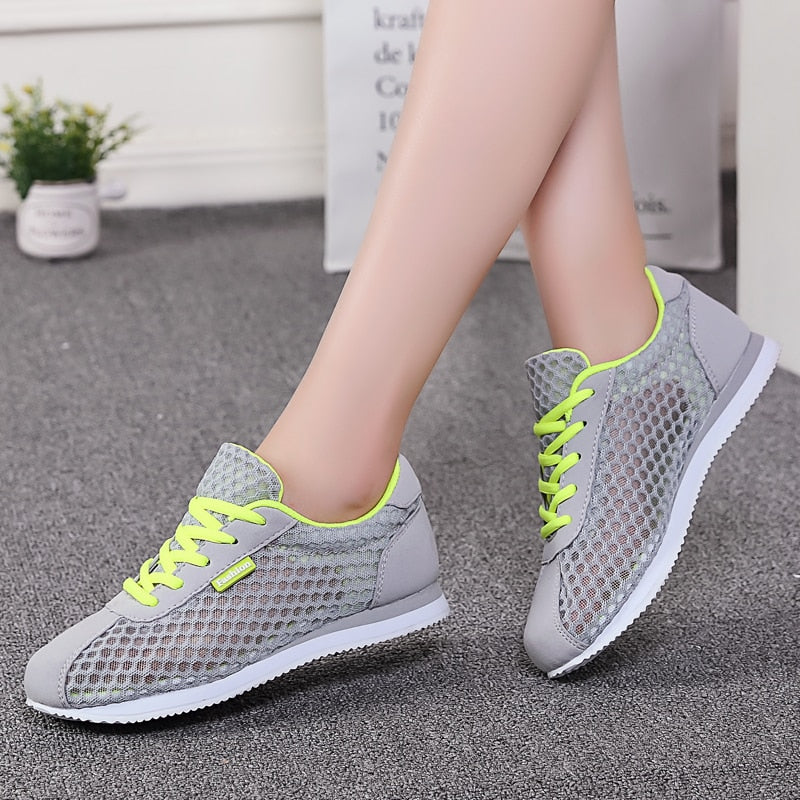 Women Tennis Shoes Walking Sneakers - One Stop Quik Shop