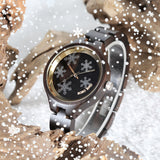 P16-3 Simple Women Wooden Watches Vivid - One Stop Quik Shop