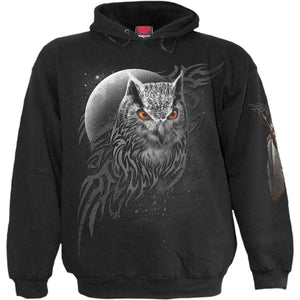 WINGS OF WISDOM - Hoody Black - One Stop Quik Shop