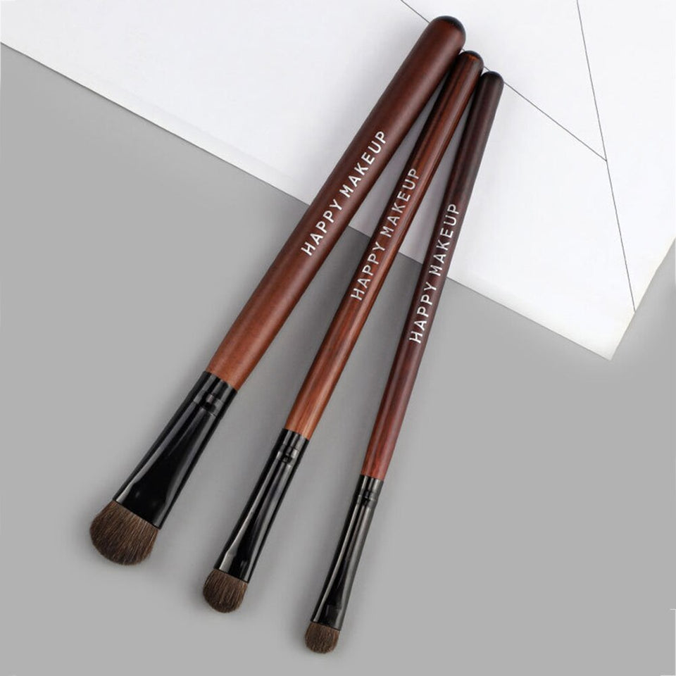 Eyeshadow Brush Professional 3PCS Makeup Brushes - One Stop Quik Shop