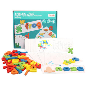 English 26 Alphabet Letters Early Educational Game - One Stop Quik Shop