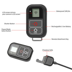 for GoPro WiFi Remote Control With Charge - One Stop Quik Shop