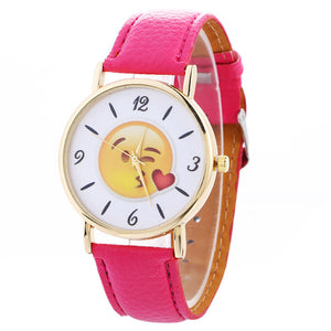 Unisex Happy Face Watches - One Stop Quik Shop