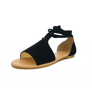 Women Casual Flat Ankle Beach Shoes - One Stop Quik Shop