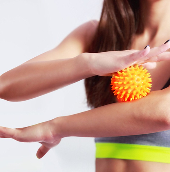 Portable Training Grip fitness PVC Hand Trigger Point Massage Ball - One Stop Quik Shop