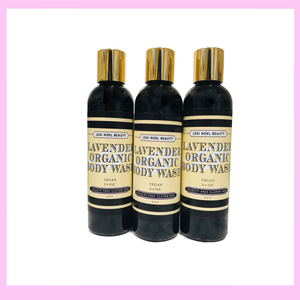 Organic Body Wash Lavender Scent Lexi Noel Beauty - One Stop Quik Shop