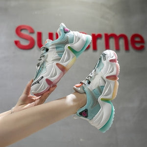 Women's Chunky Style Sneakers - One Stop Quik Shop
