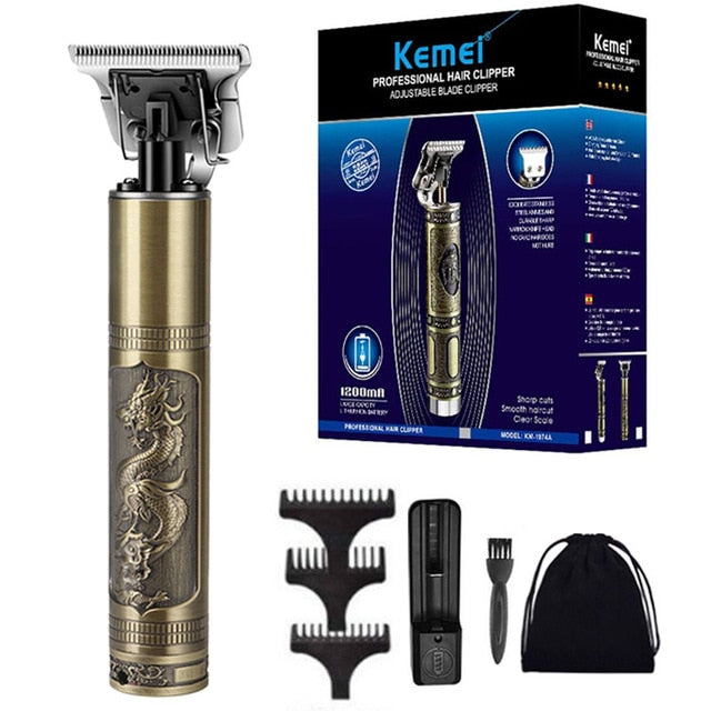 Kemei Professional Electric Beard  Trimmers - One Stop Quik Shop