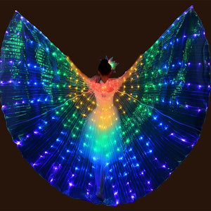 L.E.D. Fluorescent Butterfly Wings - One Stop Quik Shop