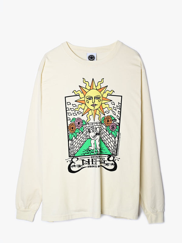Energy From The Sun LS Tee - Natural
