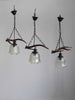 Antler Pendant Lamp Single Bulb