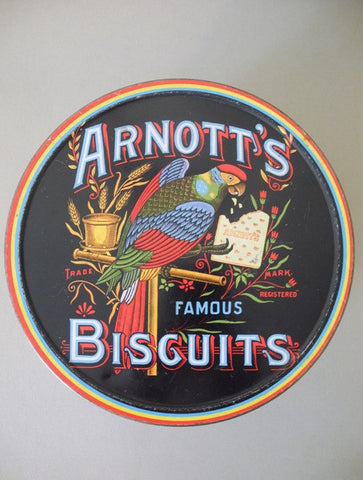 Arnott's Biscuit Tin Parrot