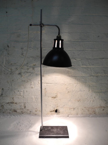Industrial Lab Lamp Height Adjustable