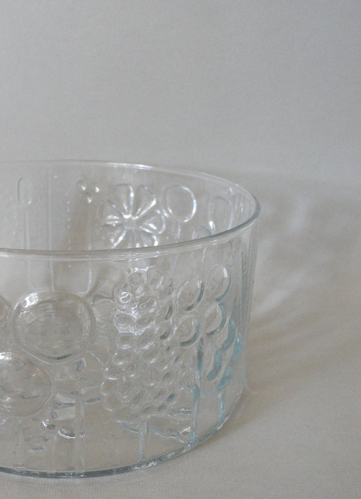 Iittala Flora Glass Bowl by Oiva Toikka