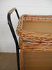 German Basketweave Serving Trolley