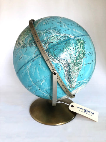 1950s Double Axis 19 inch Globe