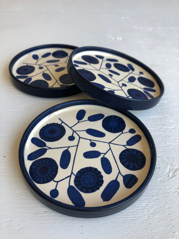 Blue and White Stockholm Melitta Plates