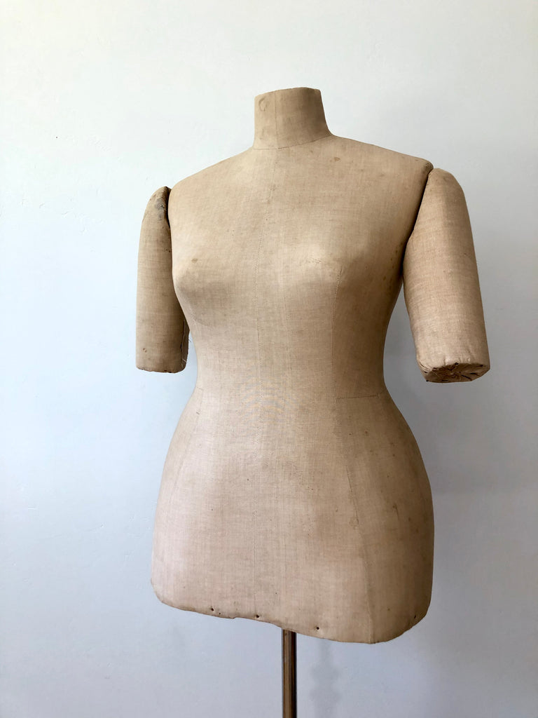 Antique Victorian mannequin USA size 16