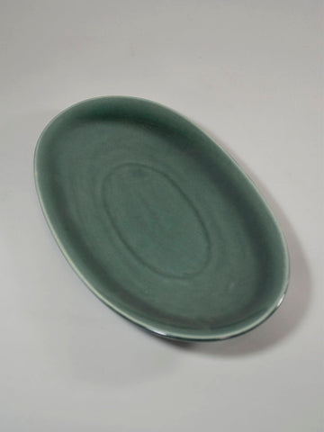 Russel Wright for Steubenville Seafoam Oval Platter