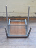 James Leonard Aluminium & Wood Stacking School Chair