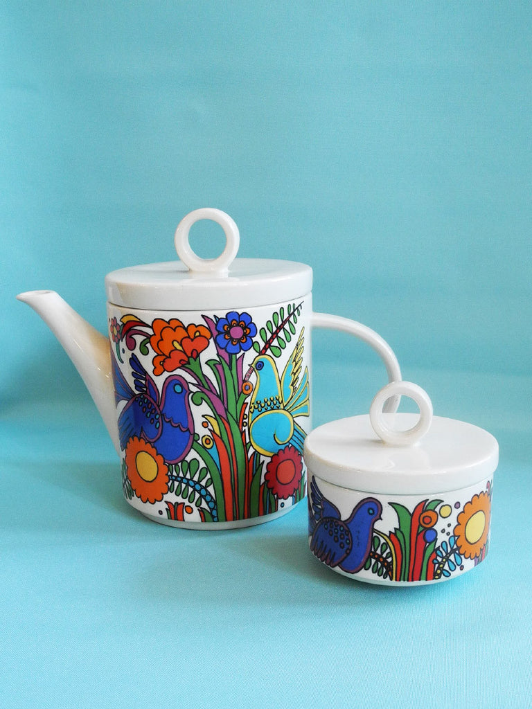 Villeroy and Boch Coffee Pot Acapulco Pattern