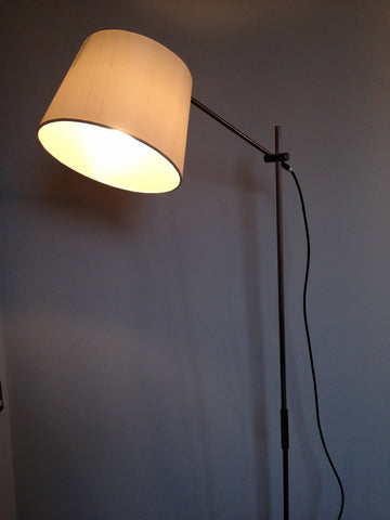 Brushed Steel Lamp
