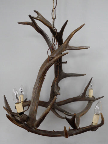 Antique Antler Chandelier