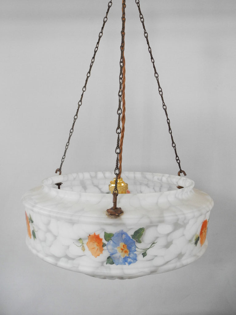 Floral Hanging Glass Shade