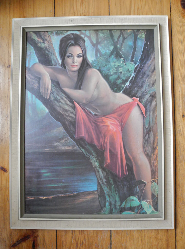 'Woodland Goddess' print by JH Lynch