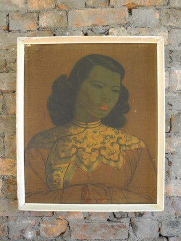 Tretchikoff's Green Lady