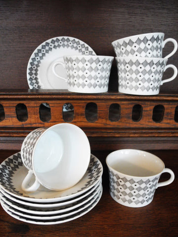 Harlequin Coffee Set