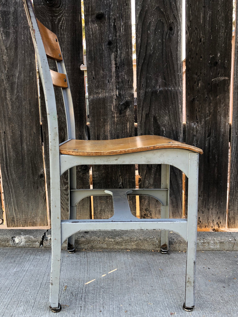 American 1950s Steel Desk Chair