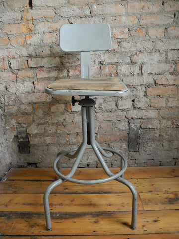 Industrial Machinist's Stool