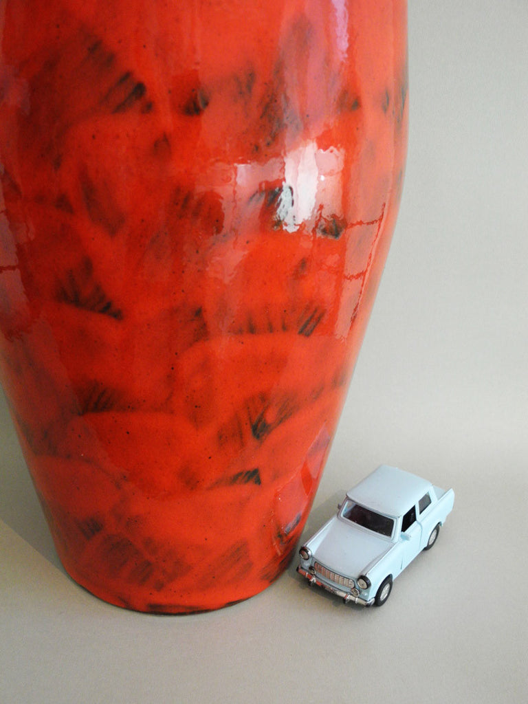 Fat lava floor vase 270-53