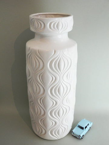 'Amsterdam' White Onion Vase