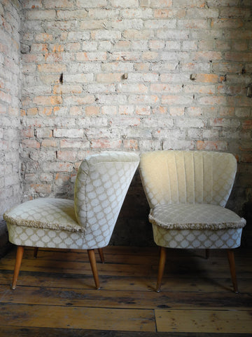Vintage German Cocktail Chairs