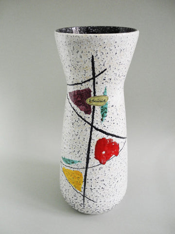 Scheurich Abstract Pattern Vase