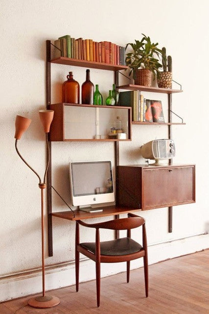 Poul Cadovius Danish Wall System Vintage Storage