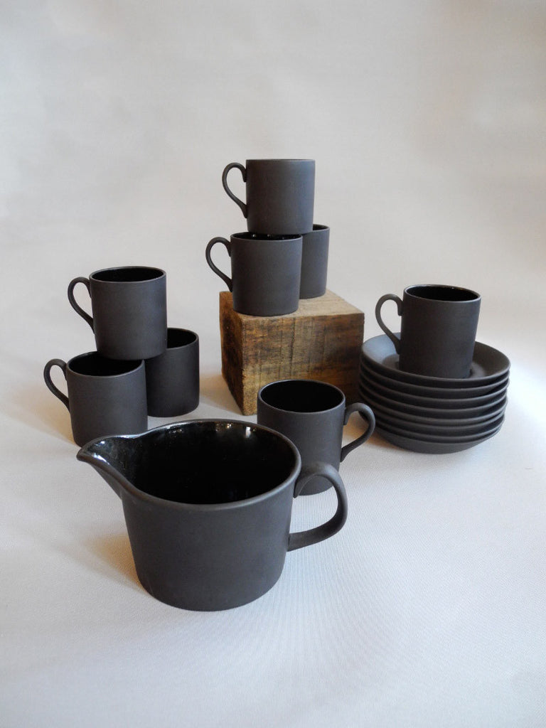 Charcoal Wedgewood Tea Set