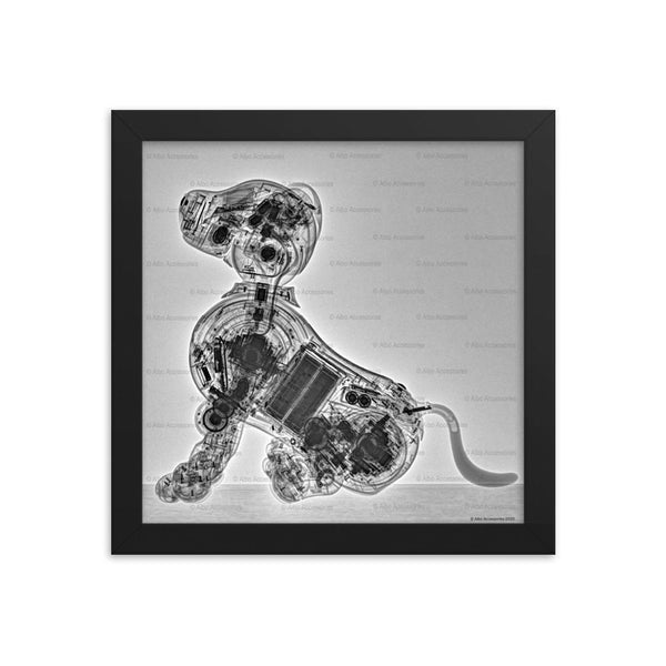 Aibo Technic: ERS-1000 CT Scan Framed Poster