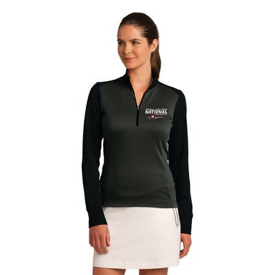Nike Ladies Dri-FIT 1/2-Zip Cover-Up (SCNC)