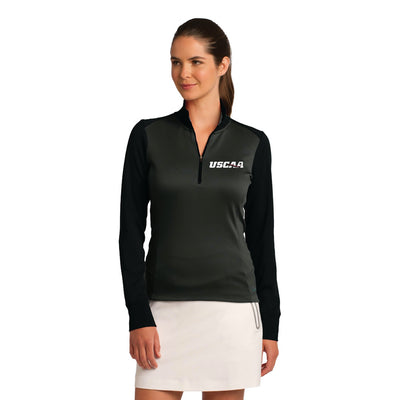 Nike Ladies Dri-FIT 1/2-Zip Cover-Up