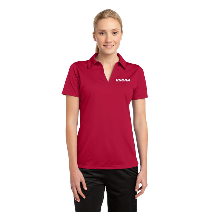 Ladies Active Textured Polo