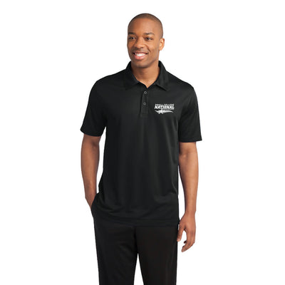 Mens Active Textured Polo (SCNS)